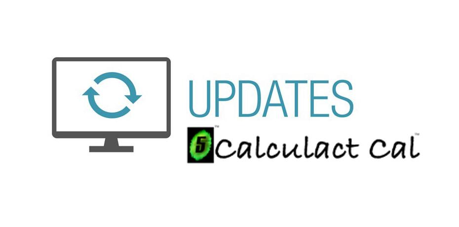 Update alert: Calculactcal.org