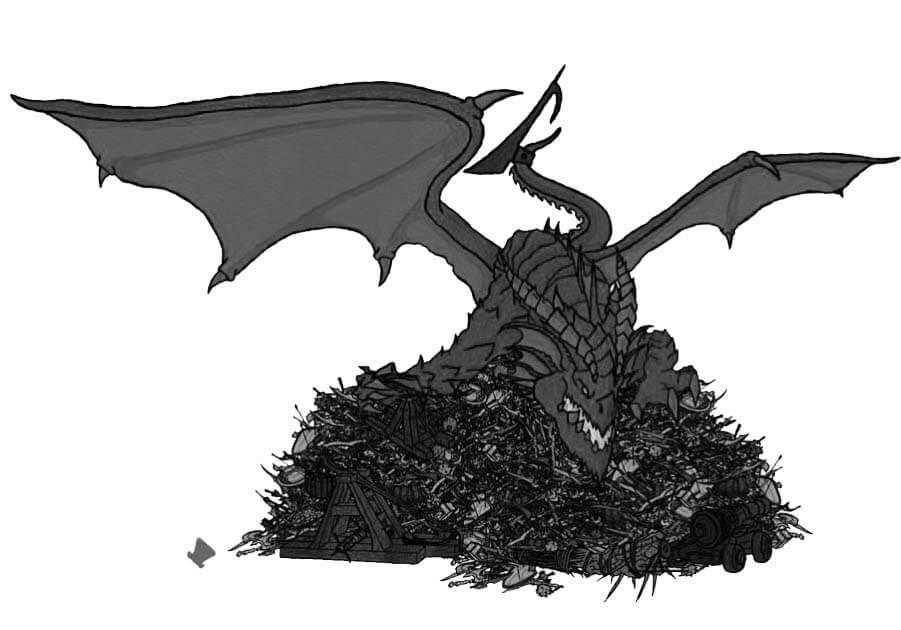dragon in dnd